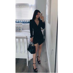 Zara Satin Mini Dress